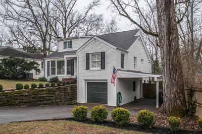 Nashville Single Family Home For Sale: 102 Lasalle Ct