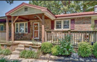 Bon Aqua Single Family Home For Sale: 1215 Lee Brown Rd