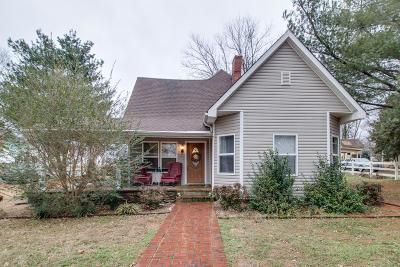 Maury County Single Family Home Under Contract - Showing: 401 Washington Ave