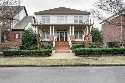 Franklin Single Family Home For Sale: 616 Stonewater Blvd