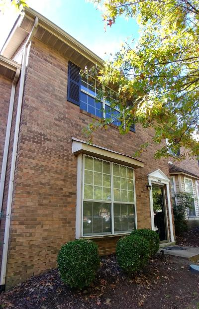 Nashville Condo/Townhouse For Sale: 125 McMurray Cir