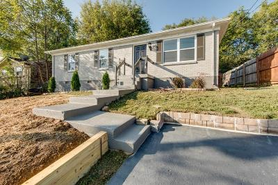 Nashville Single Family Home For Sale: 3325 Panorama Drive