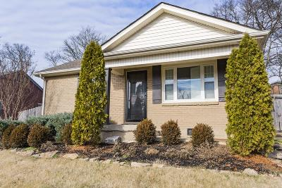 Nashville Single Family Home For Sale: 1022 Wade Ave