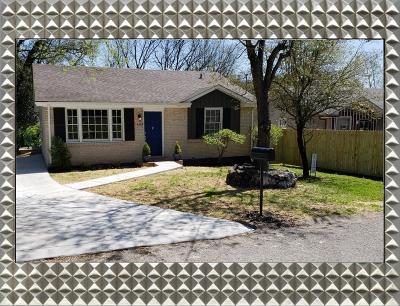 Nashville Single Family Home For Sale: 1404 Crockett Court
