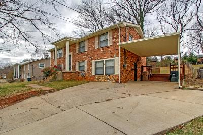 Nashville Single Family Home For Sale: 633 Truxton Ct