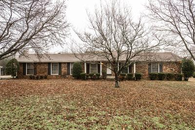 Mount Juliet Single Family Home For Sale: 214 Hickory Trace