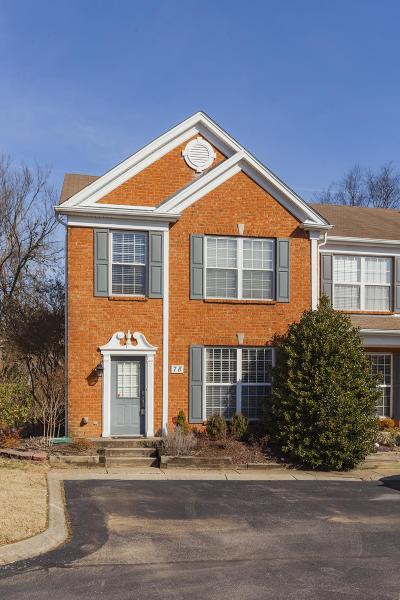 Brentwood  Condo/Townhouse Under Contract - Showing: 601 Old Hickory Blvd Unit 78 #78