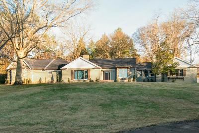 Nashville Single Family Home For Sale: 222 Brook Hollow Rd