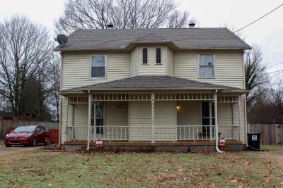 Smyrna Single Family Home For Sale: 113 Oak St