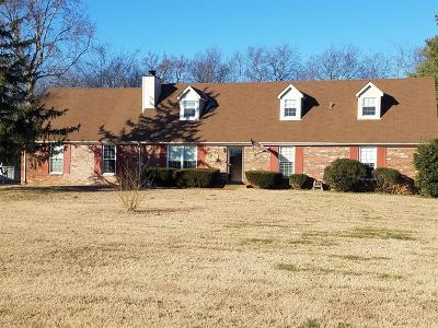 Smyrna Single Family Home For Sale: 207 Benefield Dr