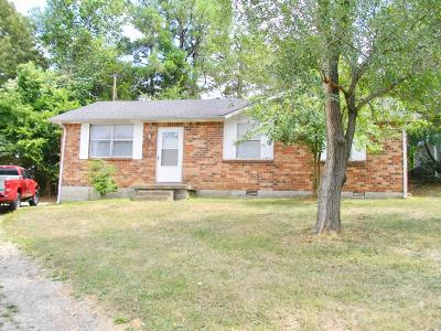 Clarksville TN Single Family Home For Sale: $80,000