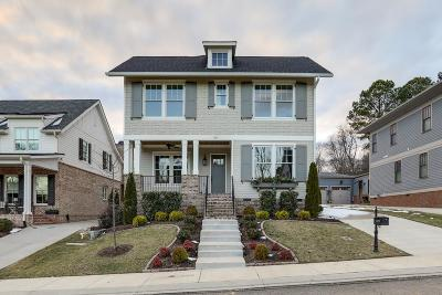 Franklin Single Family Home For Sale: 1022 Benelli Park Ct