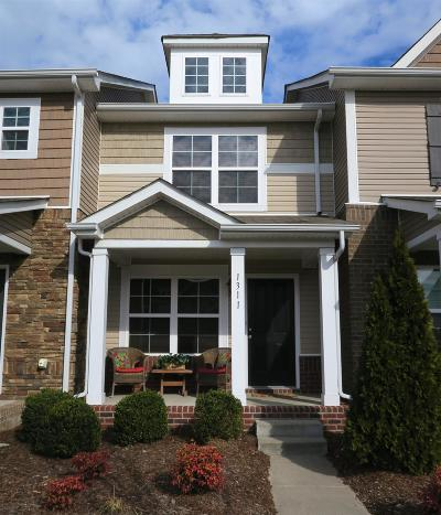 Hermitage Condo/Townhouse For Sale: 1311 Riverbrook Dr