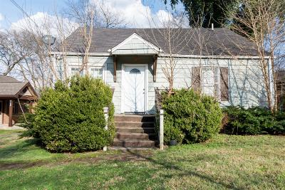 Nashville Single Family Home For Sale: 716 27th Ave N