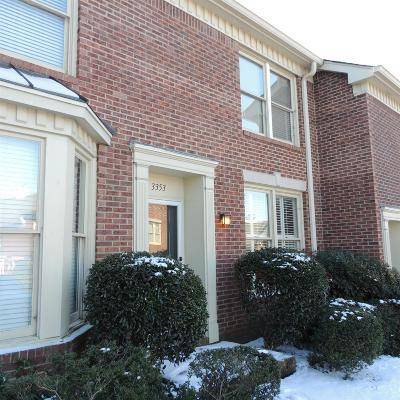 Nashville Condo/Townhouse For Sale: 3353 Golf Club Ln