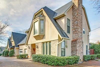 Nashville Single Family Home For Sale: 4026 D Woodmont Blvd