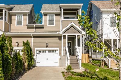 Nashville Single Family Home For Sale: 1313 A Little Hamilton Ave