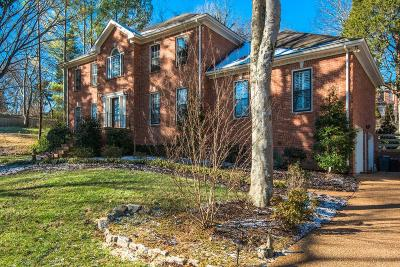 Brentwood Single Family Home For Sale: 1200 Brookview Dr