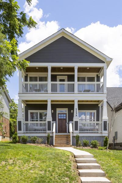 Nashville Single Family Home For Sale: 713 A S 11th Street