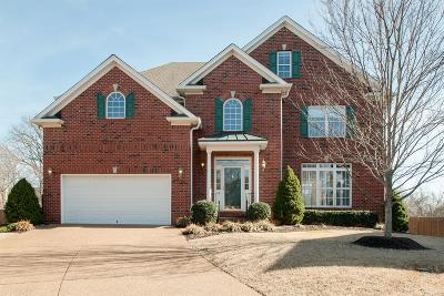 Franklin Single Family Home For Sale: 1458 Governors Ridge Ct