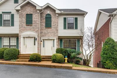 Williamson County Condo/Townhouse Under Contract - Showing: 1608 Brentwood Pointe