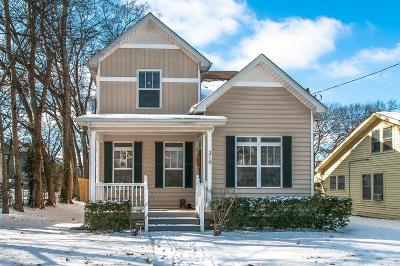 Nashville Single Family Home For Sale: 319 33rd Ave N