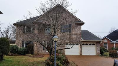 Davidson County Single Family Home For Sale: 2700 Fleet Dr
