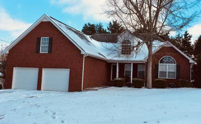 Smyrna Single Family Home For Sale: 5005 Chivalry Ct