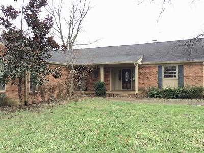 Nashville Single Family Home For Sale: 6137 Robin Hill Rd