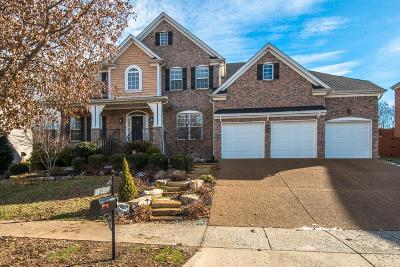 Franklin Single Family Home For Sale: 1204 Firth Ct