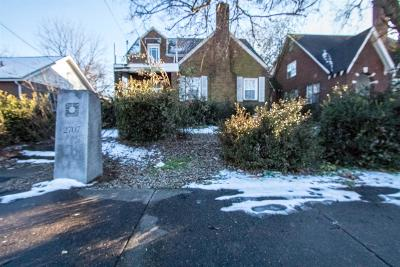 Nashville Single Family Home For Sale: 2707 Meharry Blvd