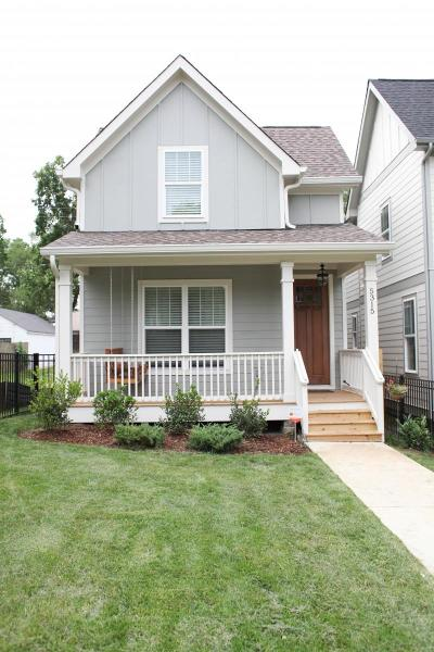Nashville Single Family Home For Sale: 5315 Indiana Ave