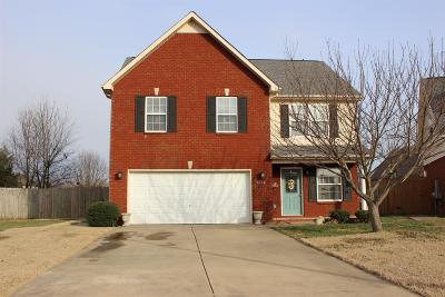 Murfreesboro Single Family Home For Sale: 5136 Cicada Cir