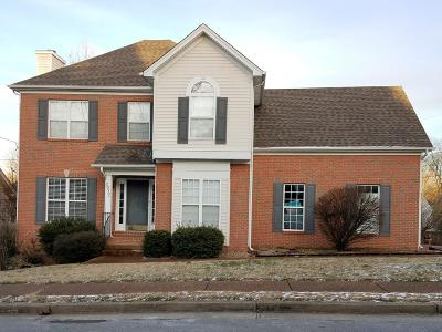 Nashville Single Family Home Under Contract - Showing: 2932 Harbor Lights Dr
