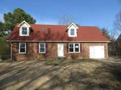 Clarksville TN Single Family Home For Sale: $113,500