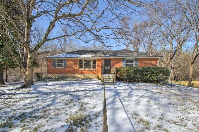 Nashville Single Family Home For Sale: 981 Davidson Dr
