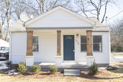 Nashville Single Family Home For Sale: 1628 N 25th Ave
