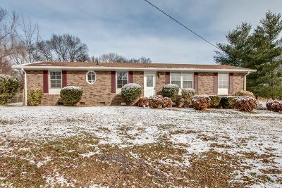 Hendersonville Single Family Home Under Contract - Showing: 102 La Via Dr