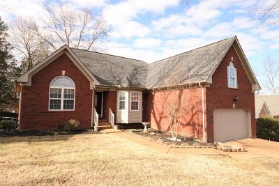 Mount Juliet Single Family Home Under Contract - Showing: 420 Parrish Hl