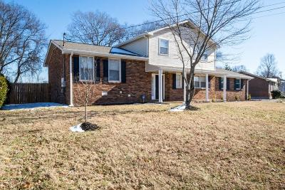 Nashville Single Family Home For Sale: 3528 Donna Kay Dr