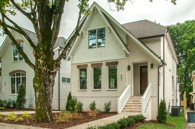 Davidson County Single Family Home Under Contract - Showing: 851 Clayton Ave