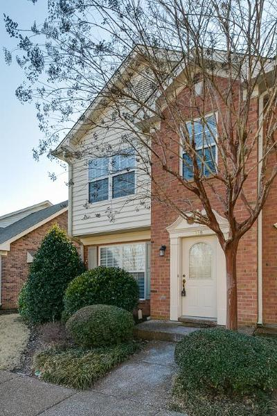 Williamson County Condo/Townhouse For Sale: 1650 Brentwood Pointe #1650