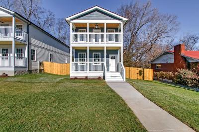 Nashville Single Family Home For Sale: 1712 Pecan St
