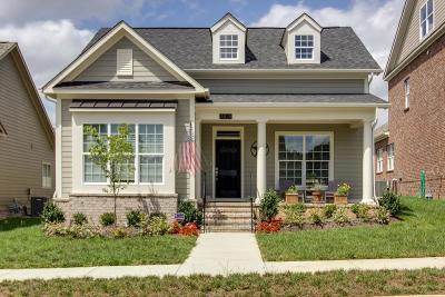 Nolensville Single Family Home For Sale: 603 Riverdene Dr #20