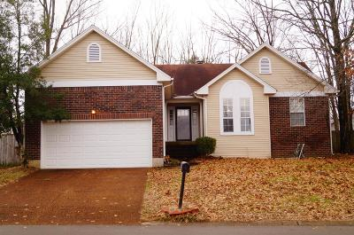 Davidson County Single Family Home For Sale: 3616 Huntingboro Trl