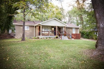 Goodlettsville Single Family Home Under Contract - Showing: 1209 S Dickerson Rd
