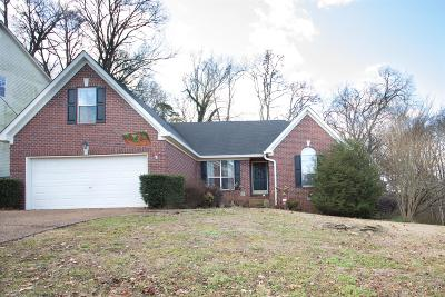 Old Hickory Single Family Home Under Contract - Showing: 1424 Brighton Cir