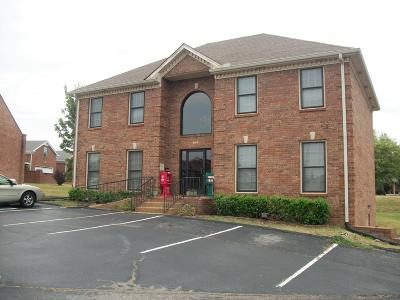 Adams, Clarksville, Springfield, Dover Commercial For Sale: 2109 Park Plaza Dr., Suite 300