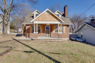 Single Family Home For Sale: 309 Pullen Ave