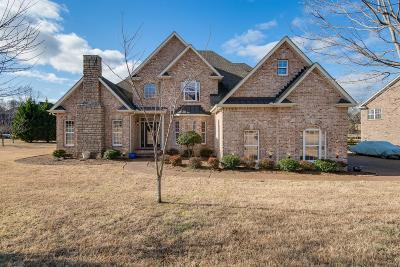 Mount Juliet Single Family Home Under Contract - Showing: 801 Yachts Lndg